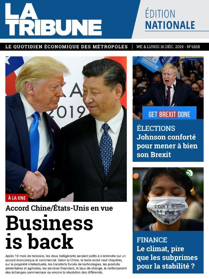 La une des quotidiens nationaux ce samedi 14 décembre.