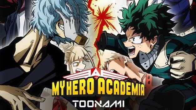 Saison 3 de « My Hero Academia » dès le lundi 6 janvier sur TOONAMI.