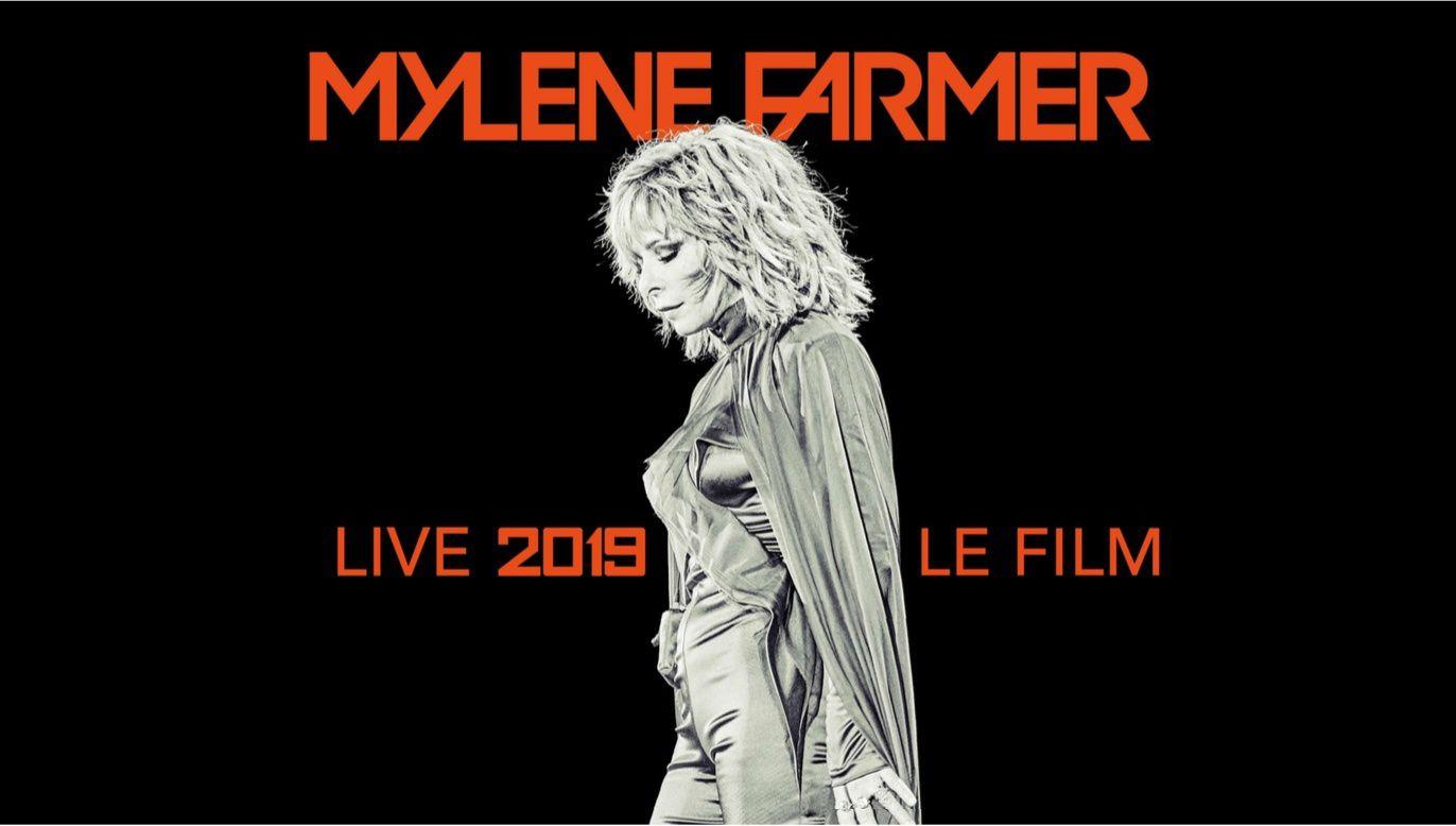 Concert de Mylène Farmer à la Défense Arena programmé ce mardi soir sur W9 (extrait).