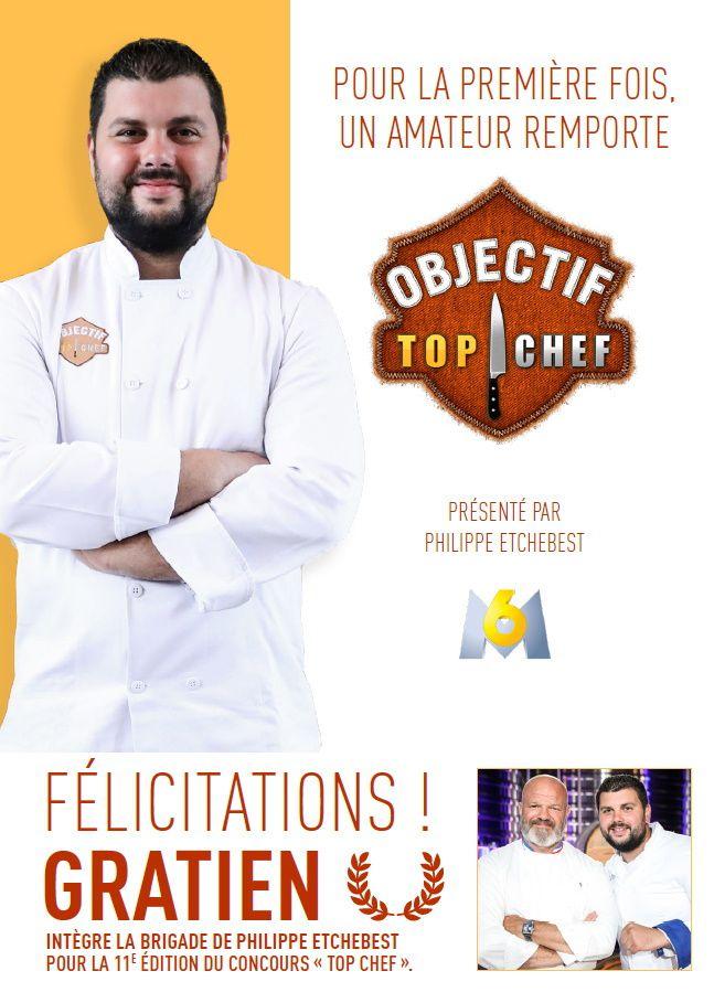 Gratien Leroy s'est qualifié pour intégrer la brigade du Chef Etchebest dans « Top Chef ».