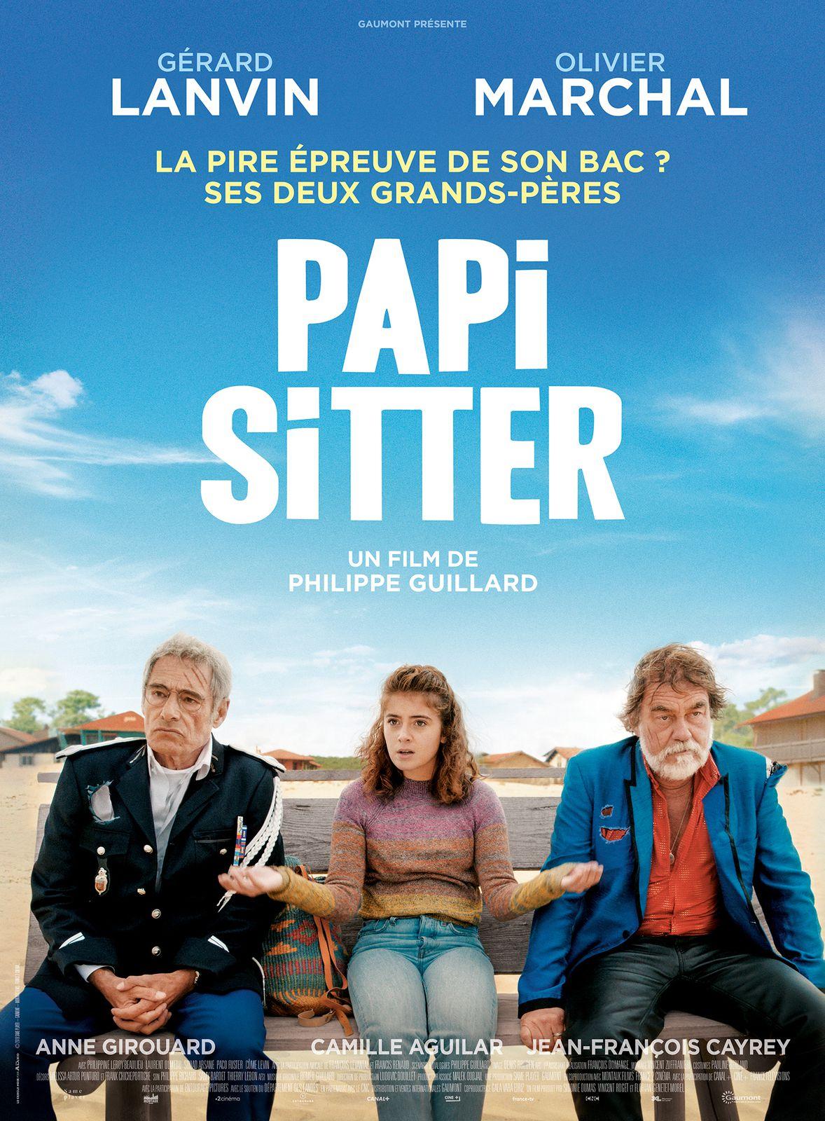 Bande-annonce de la comédie Papi Sitter, avec Gérard Lanvin et Olivier Marchal.