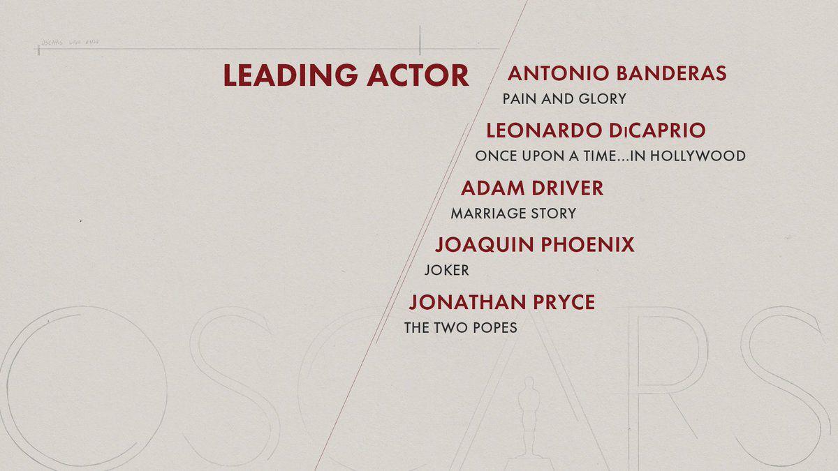 La liste des nominations pour les Oscars 2020 : Les misérables et J'ai perdu mon corps sont en lice.