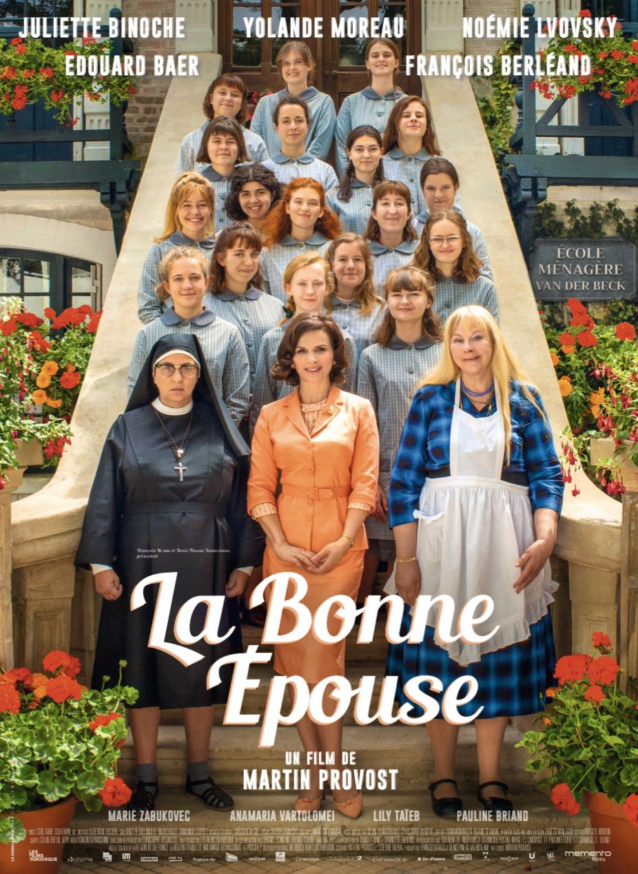 Bande-annonce de La bonne épouse, avec Juliette Binoche, Yolande Moreau et Noémie Lvovsky.