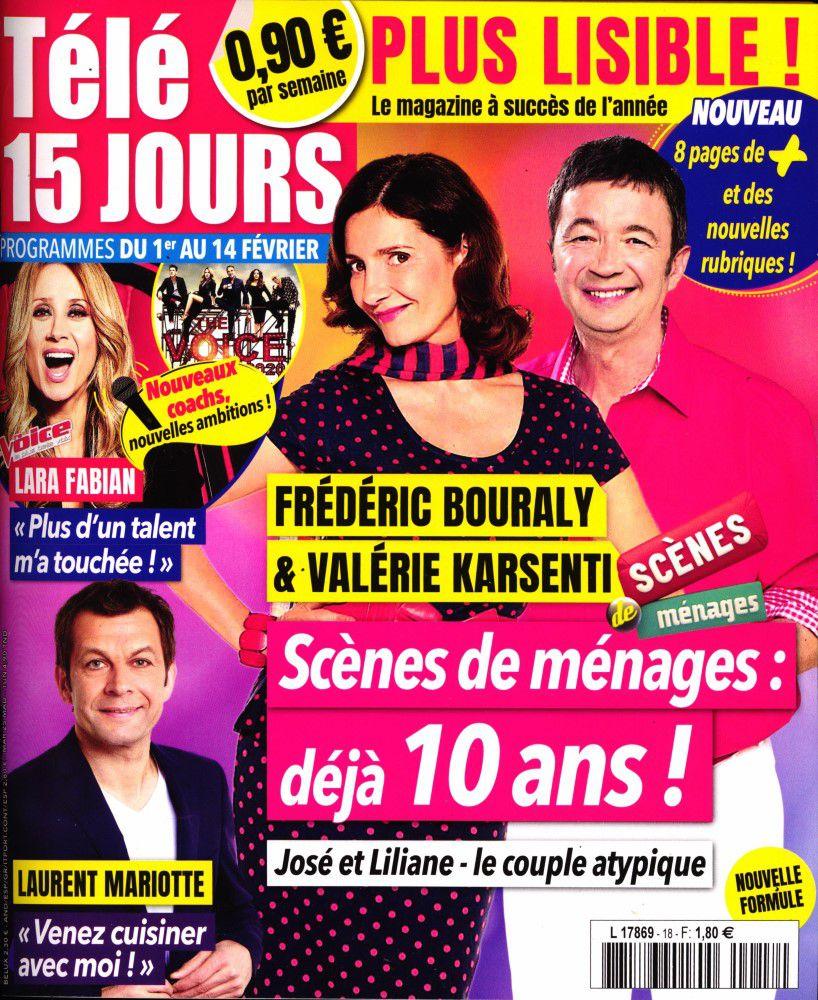 La une des hebdos TV : Alain Chabat, Léa François, Margaux et Nagui…