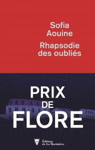 Le Prix Littéraire Beur FM Méditerranée - TV5MONDE attribué à Sofia Aouine.