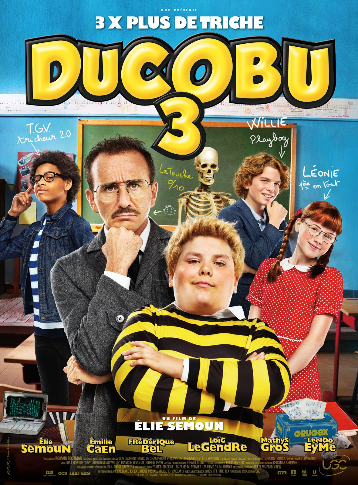 Box-office hebdo : Ducobu tient tête aux grosses nouveautés US, désastre pour #Jesuislà.