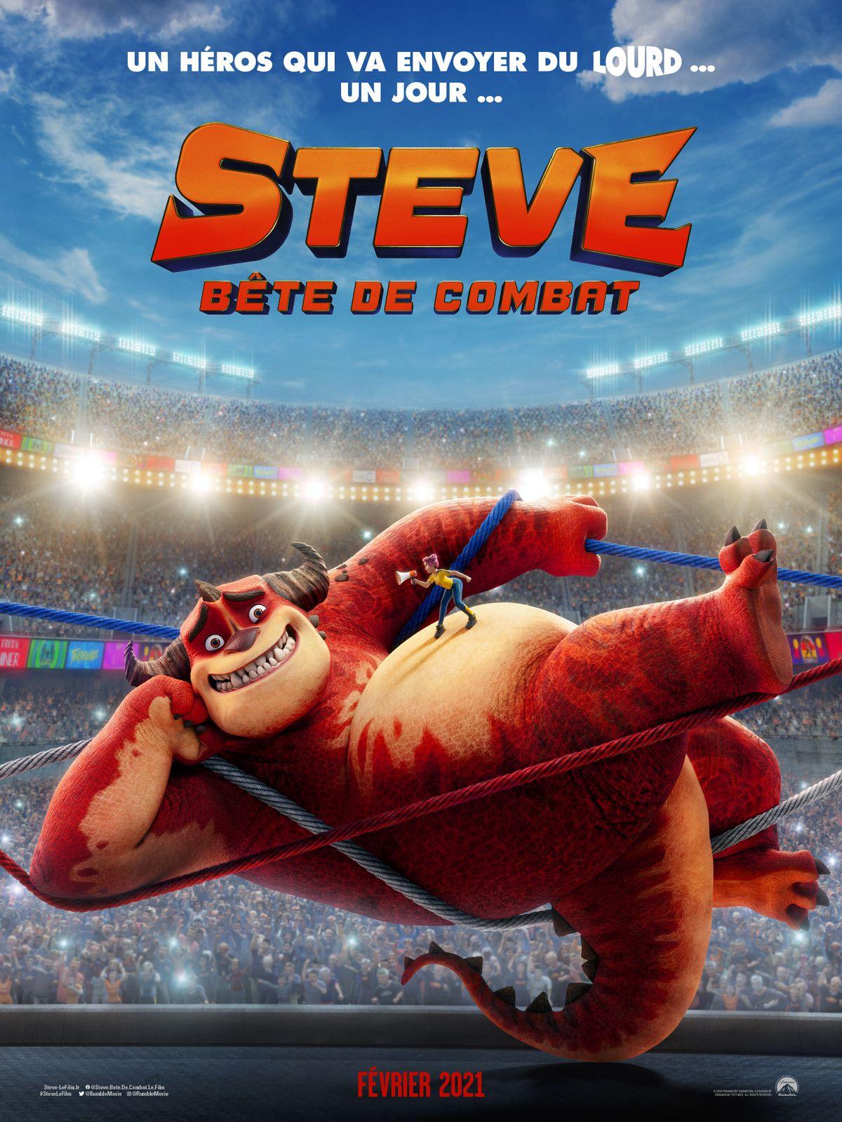 Bande-annonce du film d'animation Steve, bête de combat.