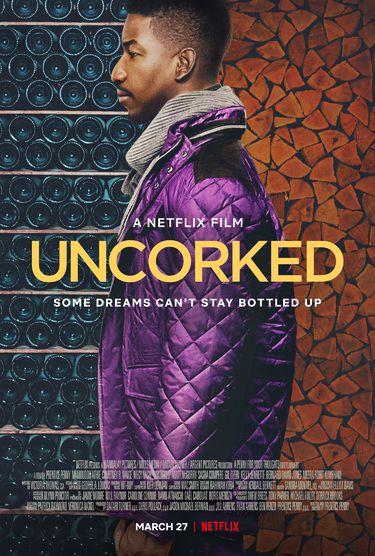 Sur Netflix dès ce vendredi, Le goût du vin, avec Mamoudou Athie, Courtney B. Vance et Niecy Nash.
