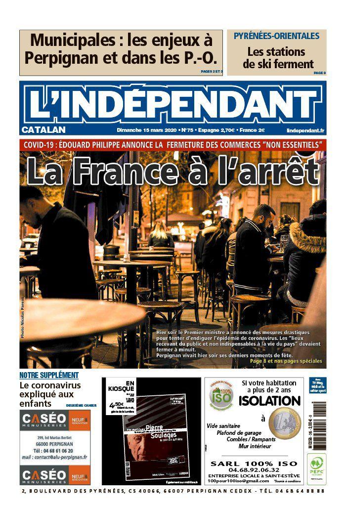 La UNE  de la presse ce dimanche, au lendemain des annonces choc d'Édouard Philippe.