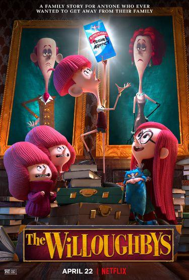 Dès ce mercredi sur Netflix, le long-métrage animé inédit La Famille Willoughby.
