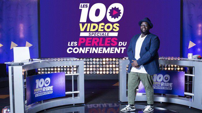 Les 100 vidéos sur W9 : numéro spécial Perles du confinement, le 23 avril.