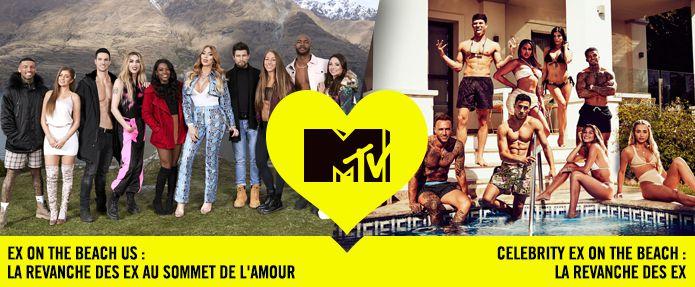 Soirée spéciale Ex on the beach : dès ce 25 avril, le samedi sur MTV (téléréalité).