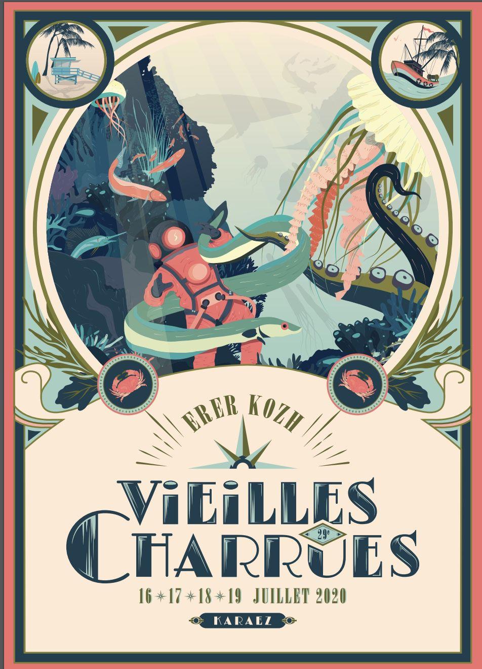 Le gros festival des Vieilles charrues est officiellement annulé cet été (report à juillet 2021).