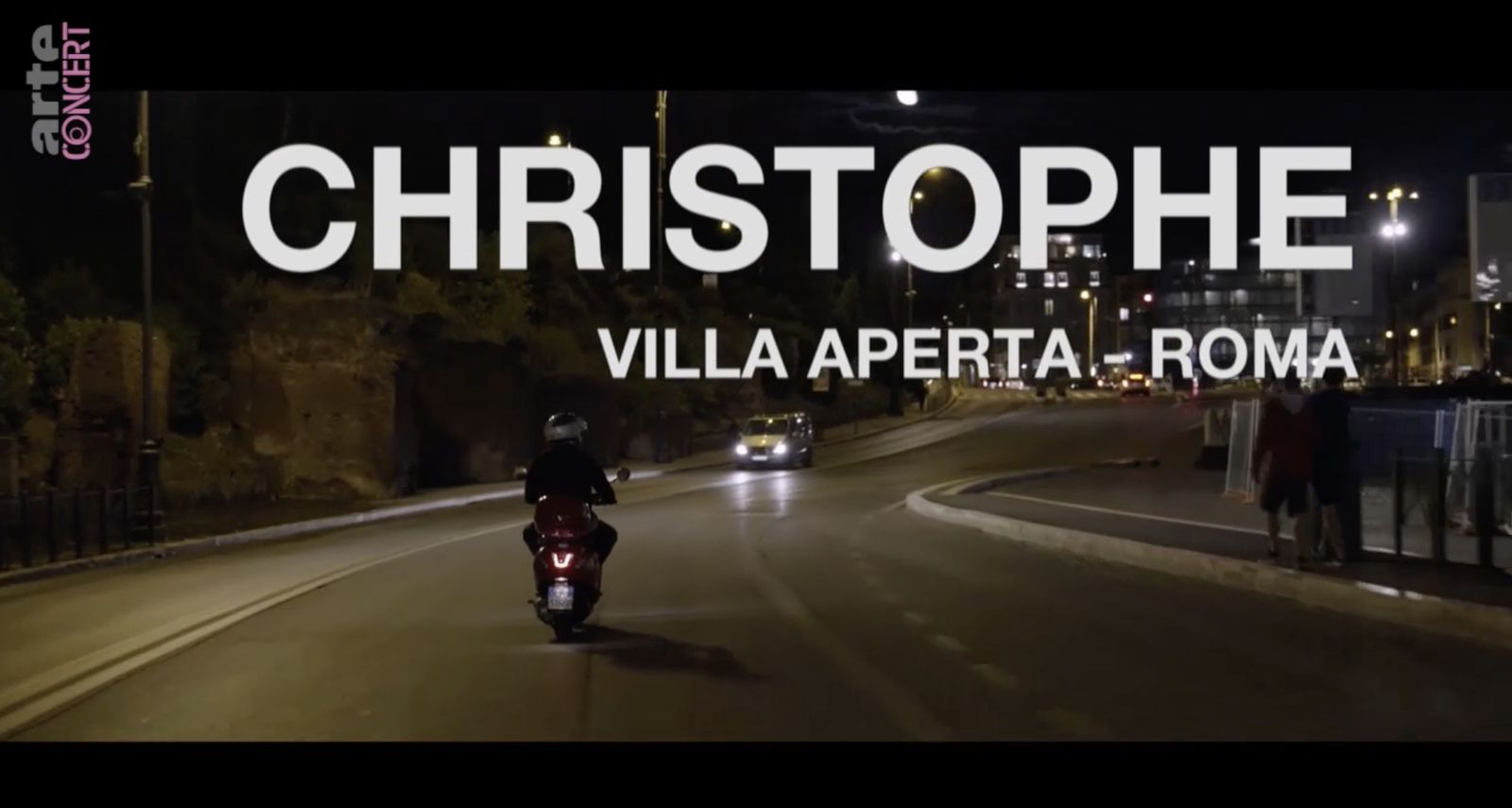 ARTE rend hommage à Christophe en diffusant ce soir un concert donné à Rome en 2014 (vidéo).