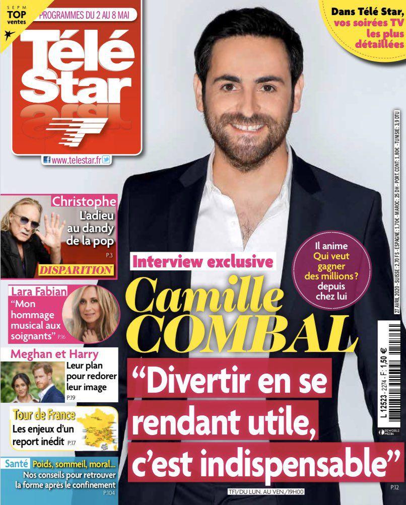 La une des hebdos TV ce lundi : Cyril Lignac, Camille Combal, Anne-Elisabeth Lemoine...