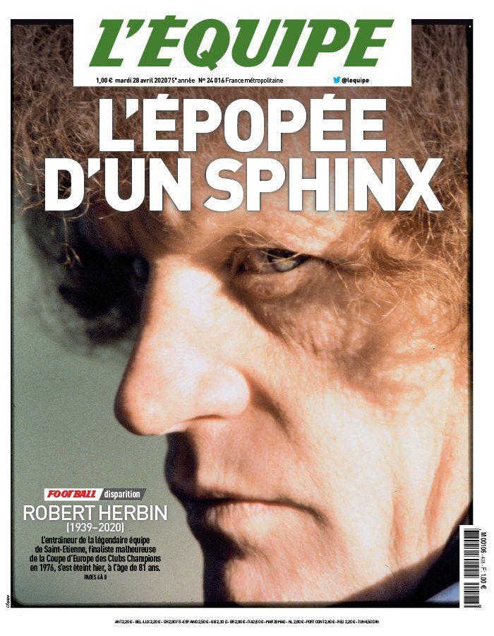 Soirée spéciale ce mardi sur L'Équipe, en hommage à Robert Herbin.