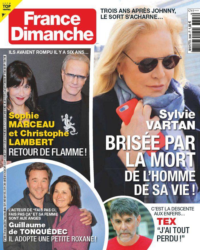 La une des hebdos people ce vendredi : Lorie enceinte, Marc Lavoine, Sylvie Vartan…