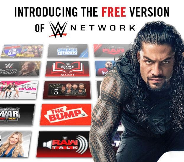 La WWE dévoile une version gratuite de son service de streaming vidéo (catch US).