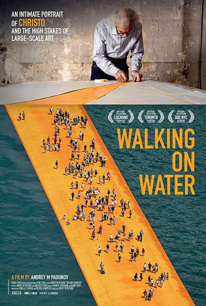 ARTE rend hommage à Christo avec le film documentaire Walking on water.