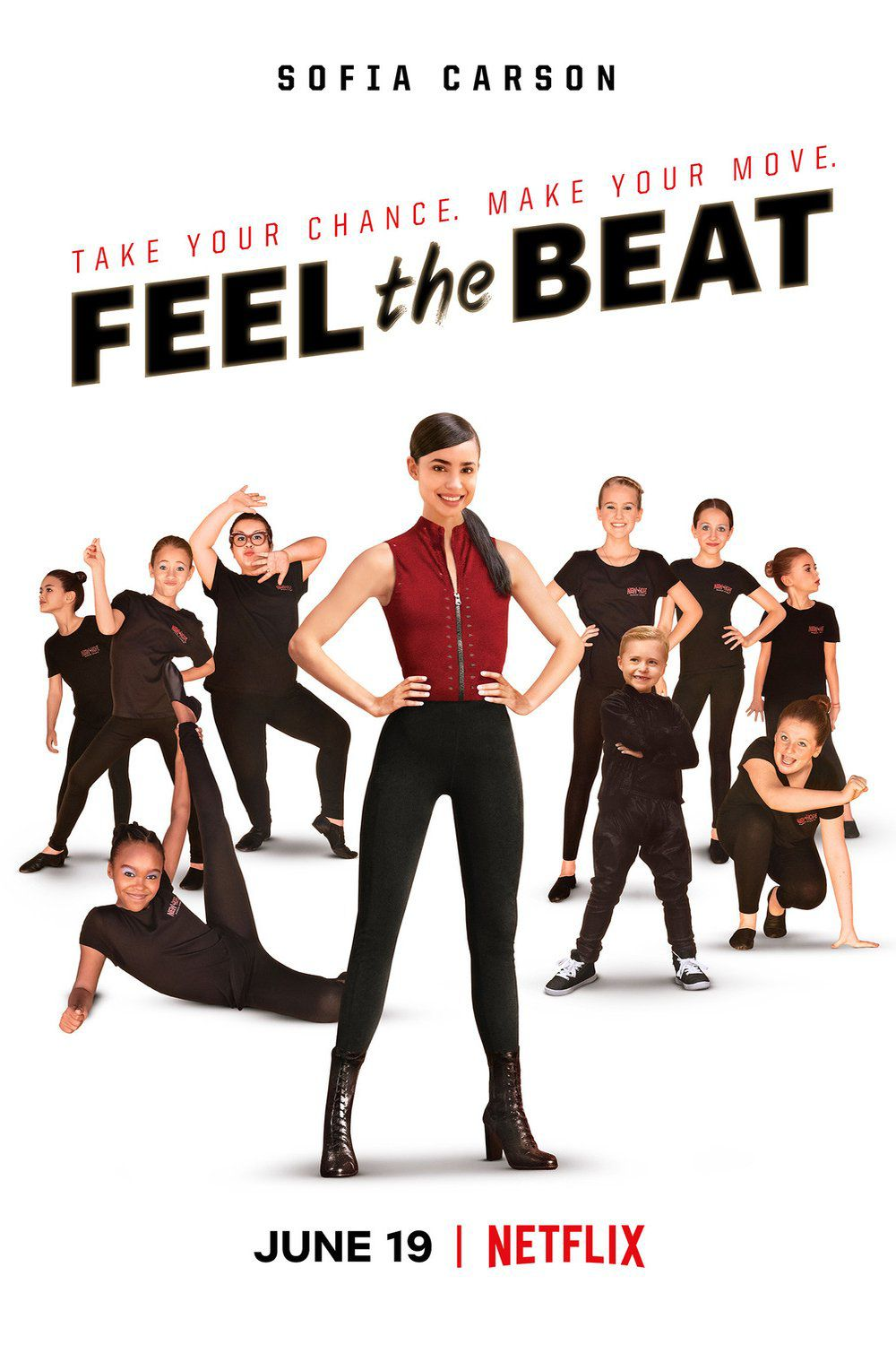 Bande-annonce du film Feel the Beat, avec Sofia Carson.