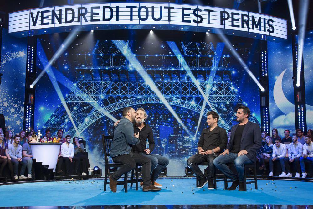 Un numéro spécial de Vendredi tout est permis avec l'équipe du film Divorce Club, ce soir sur TF1.