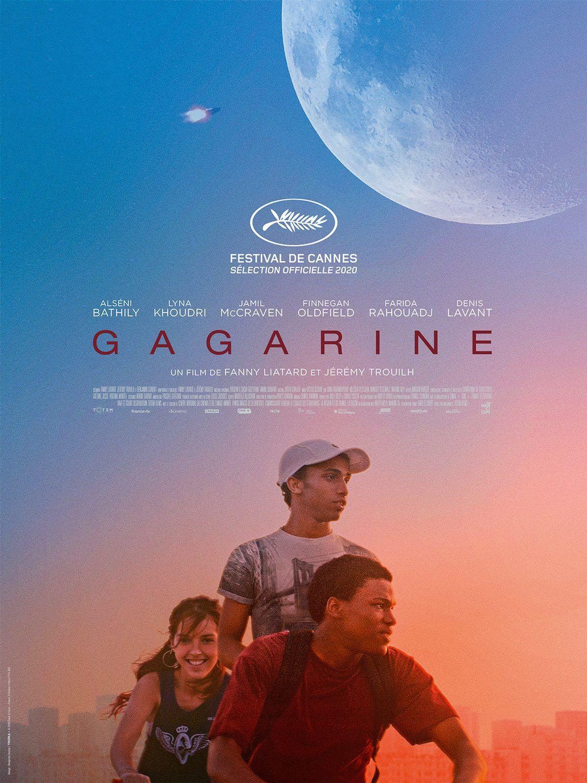 Teaser vidéo du film Gagarine.