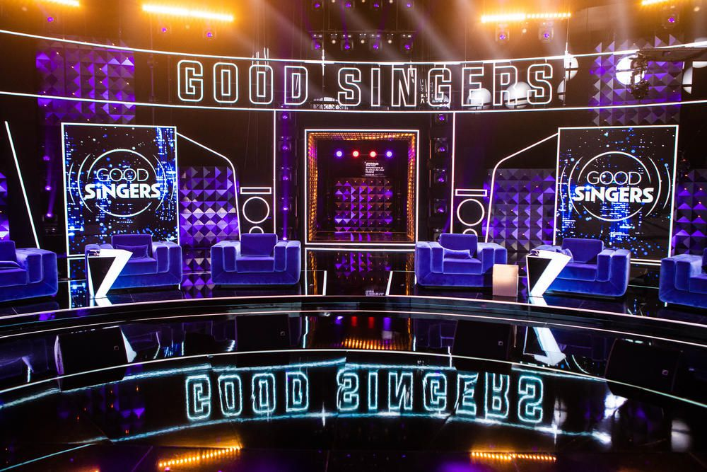 Le concept de la nouveauté Good Singers, show présenté par Jarry dès ce vendredi soir sur TF1.