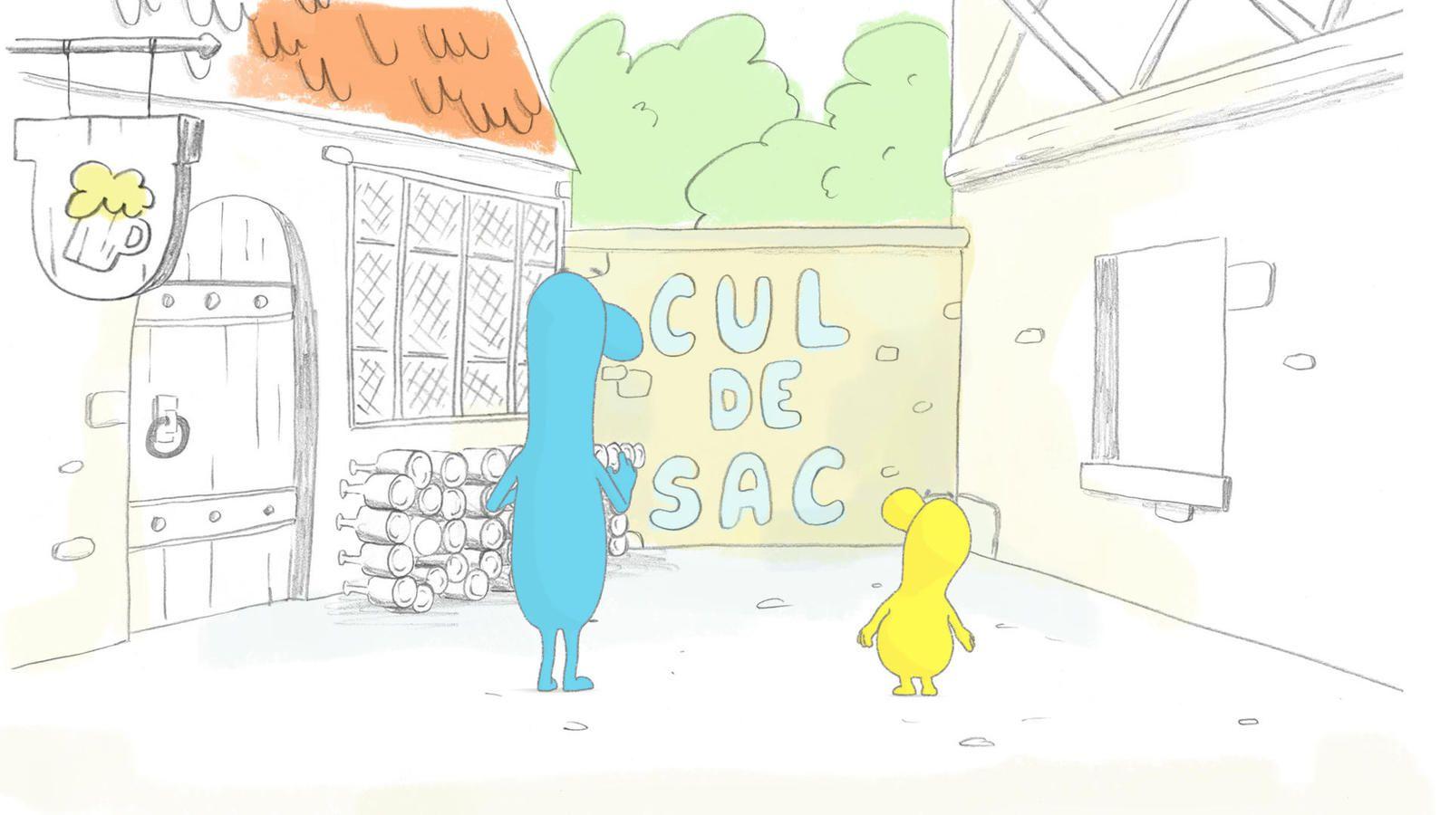 Les histoires de mots dès le 31 août sur France 4 (avec la voix de Nicole Ferroni).