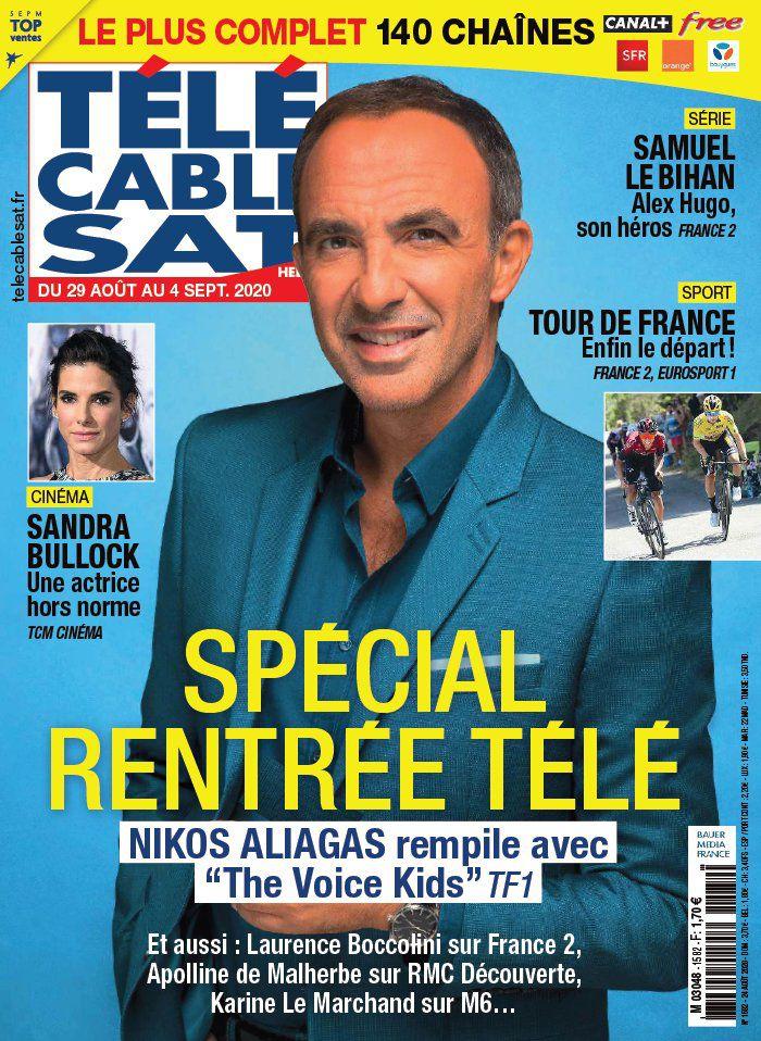 La une des revues TV cette semaine : Nikos Aliagas, Karine Le Marchand, Anne-Elisabeth Lemoine…