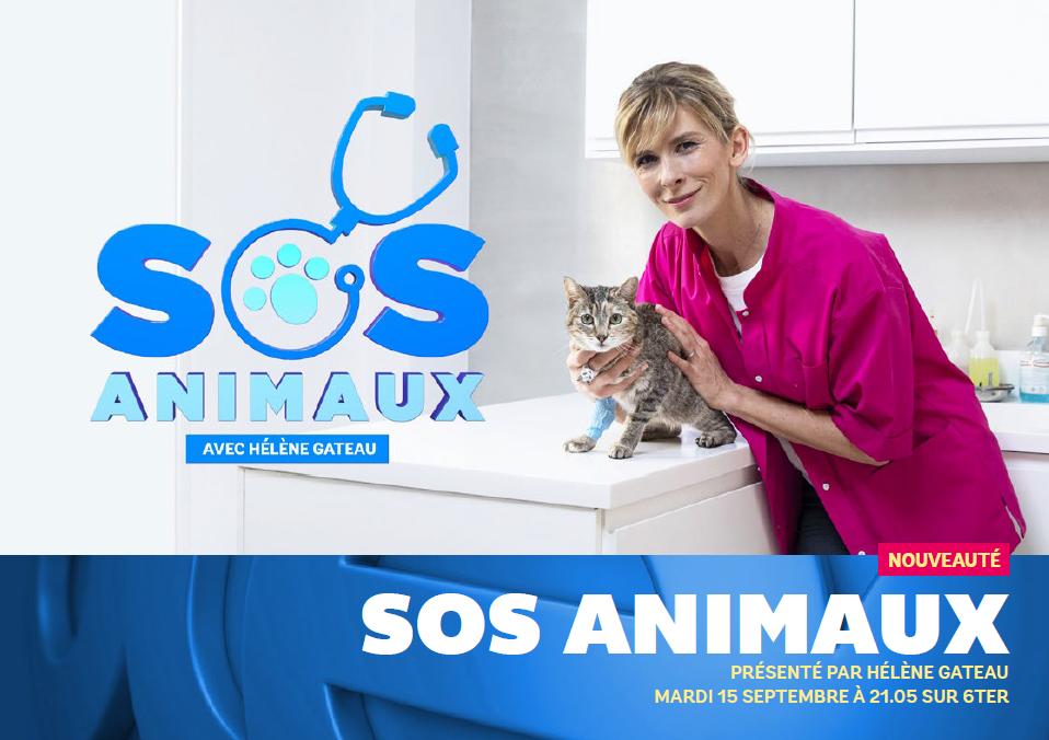 SOS Animaux avec Hélène Gateau dès ce mardi soir sur 6ter.