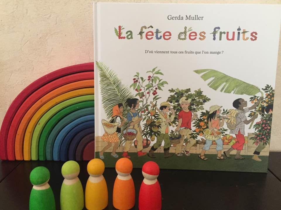[Biblio] Gerda Muller et son nouvel album jeunesse: La fête des fruits