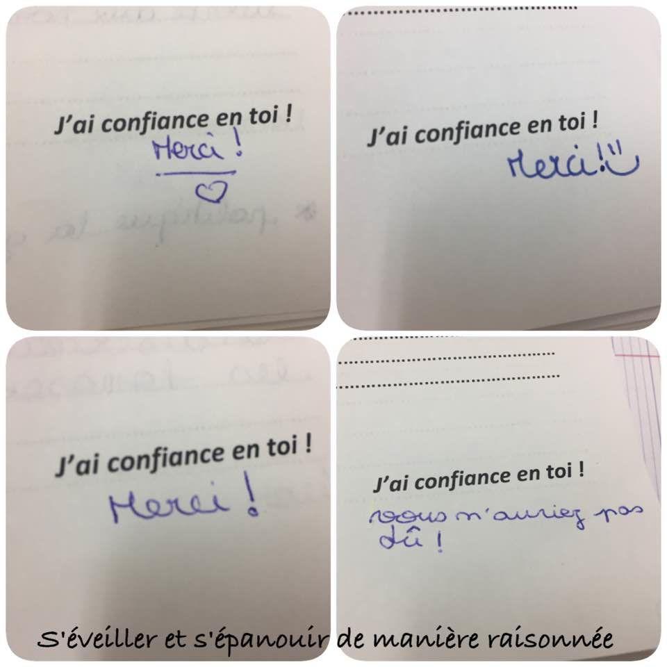 [Ecole] Une petite phrase pour aider mes élèves à avoir confiance en eux et mettre en valeur leur potentiel
