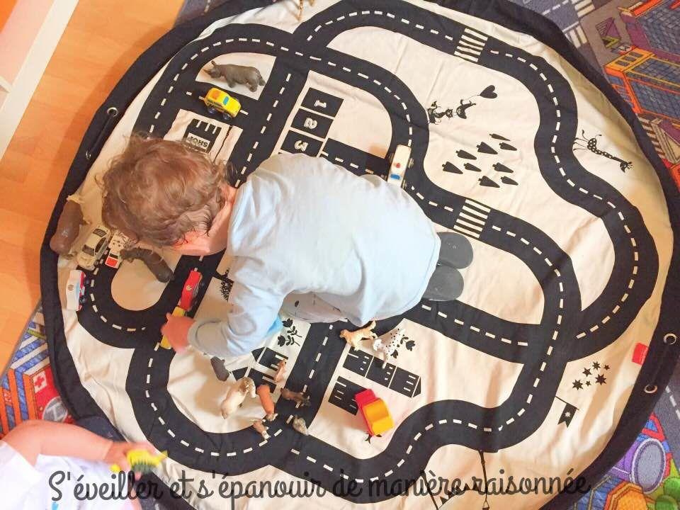 [Ludothèque] Le sac à jouets 'route' Play&Go