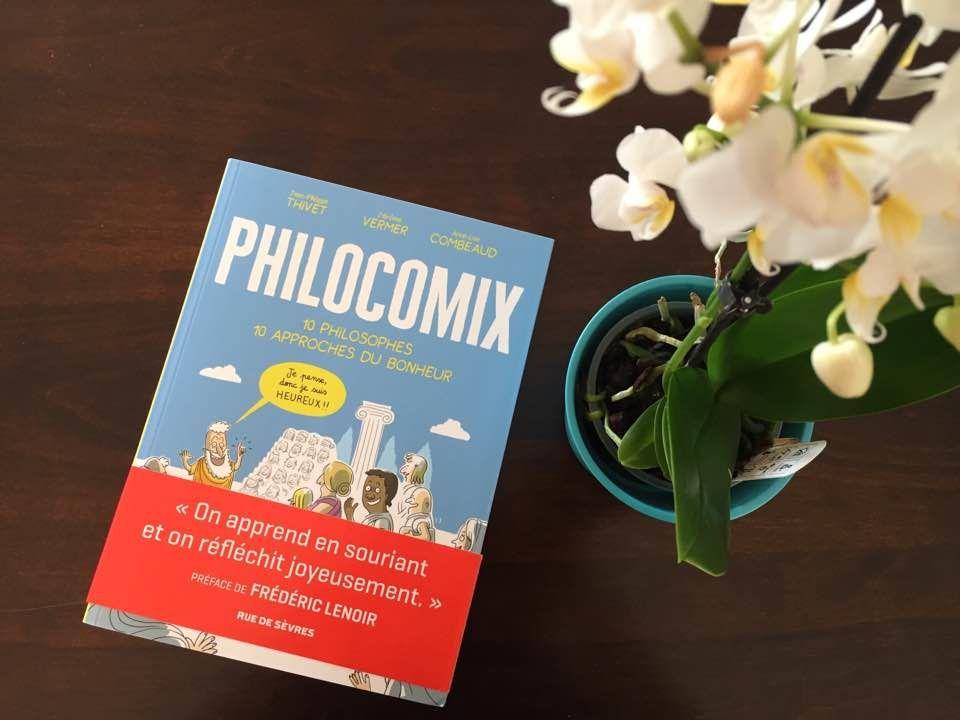 [Biblio] Philocomix, 10 Philosophes, 10 Approches du Bonheur - une BD pour en apprendre plus sur les grands philosophes