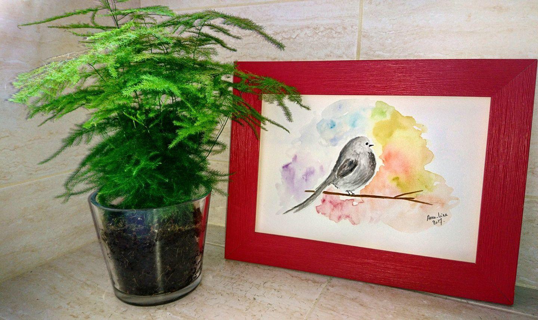 Avoir une amie artiste aquarelliste (+concours)