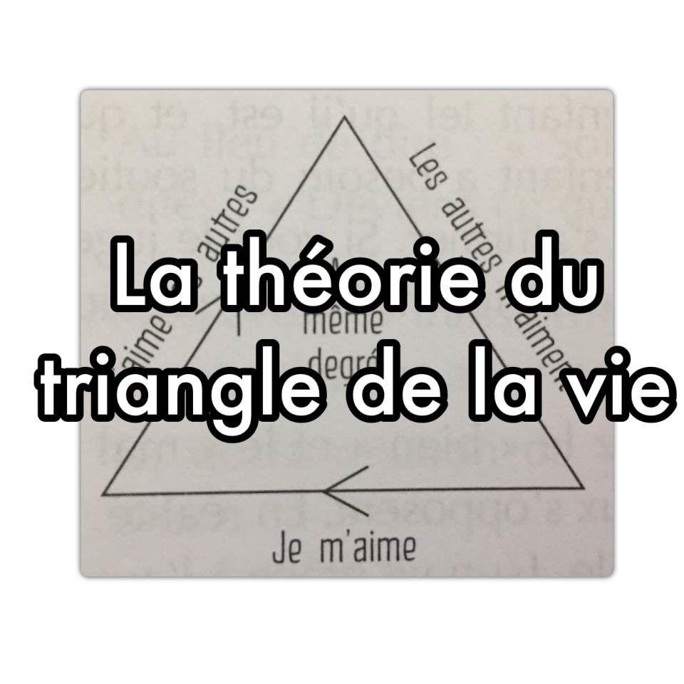 [Développement personnel] Le triangle de la vie