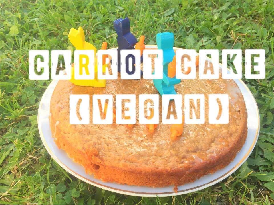 [Cuisine] Carrot cake vegan (gâteau à la carotte)
