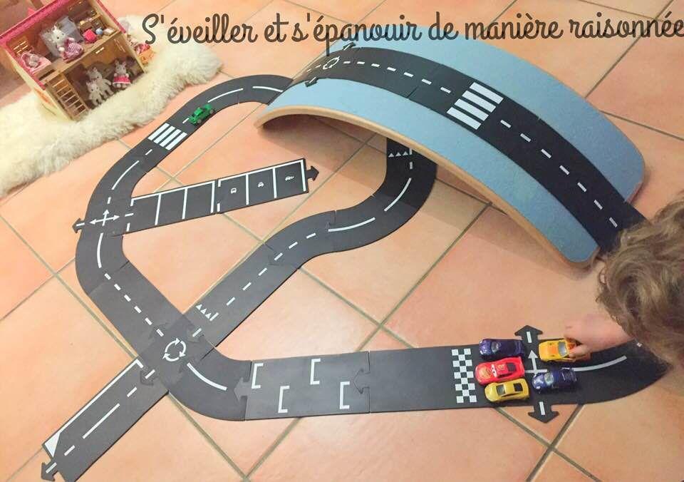 [Ludothèque] Le circuit de route flexible Way to Play