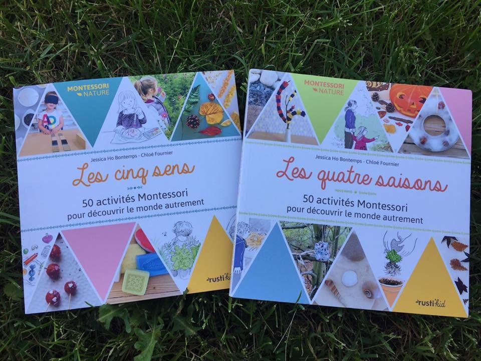 [Biblio] Deux recueils d'activités coup de coeur, pour partir en voyage au coeur des sens et de la nature (Montessori)