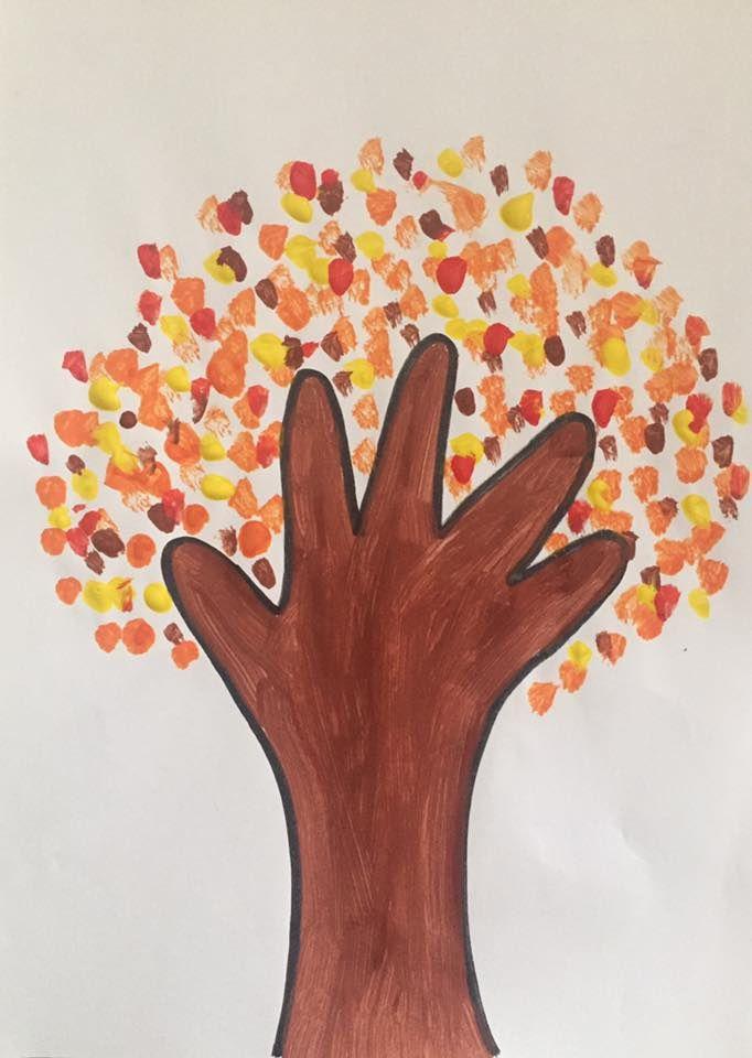 [Activité] Peindre un arbre selon les saisons
