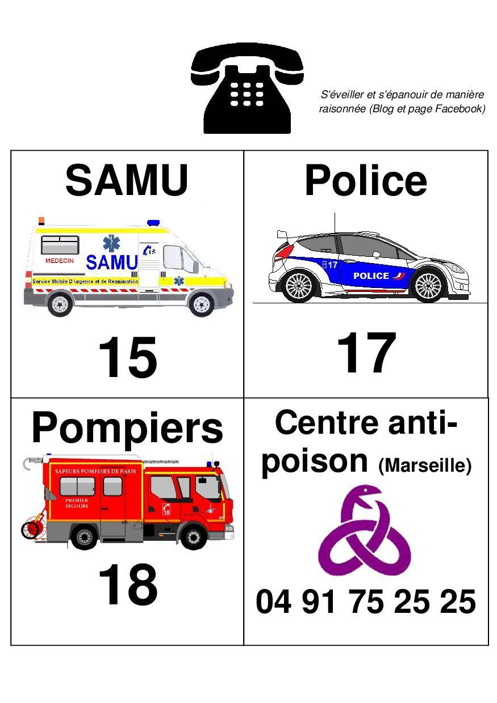 [Affiche] Les appels d'urgence