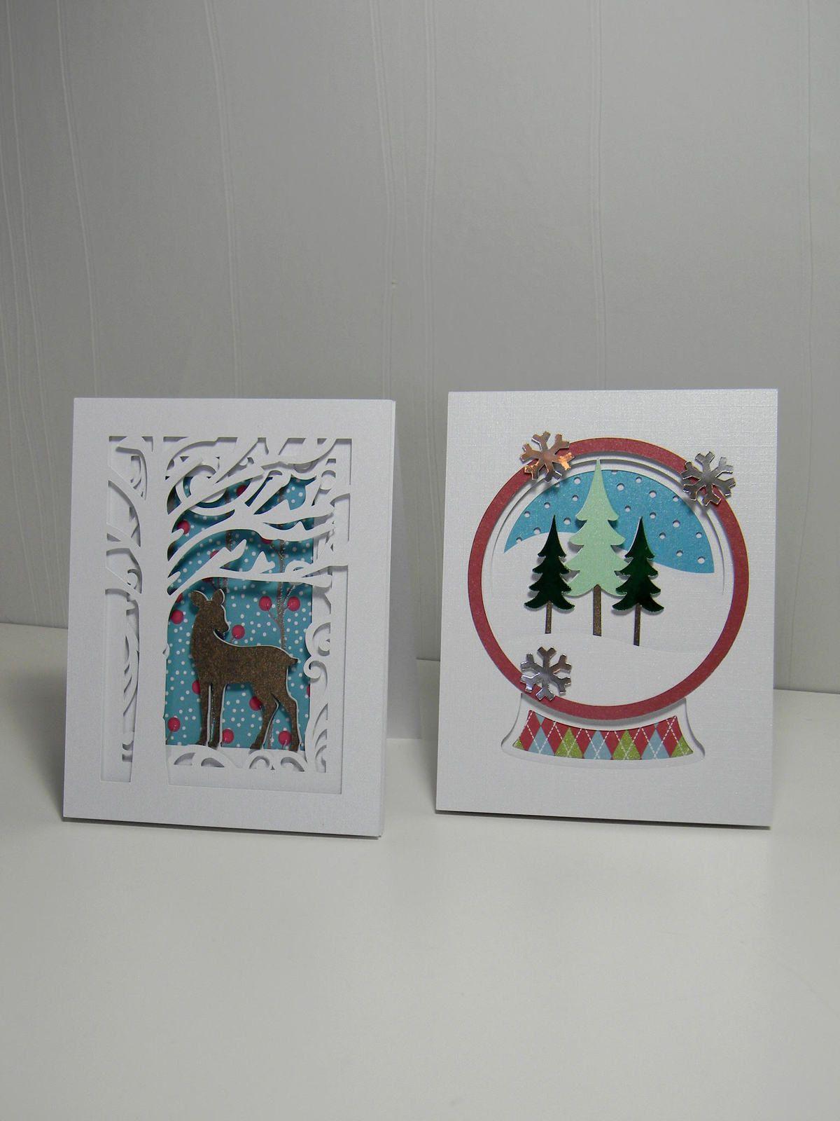 Cartes et lanterne de Noël pour les maîtresses