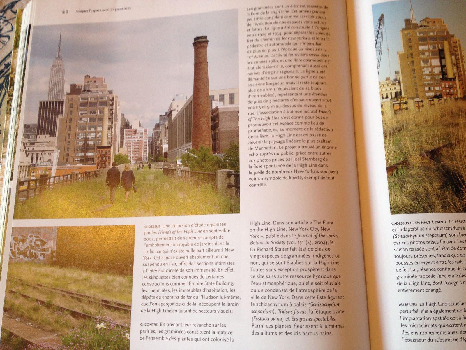 Quelques pages feuilletées pour vous... High Line, New York