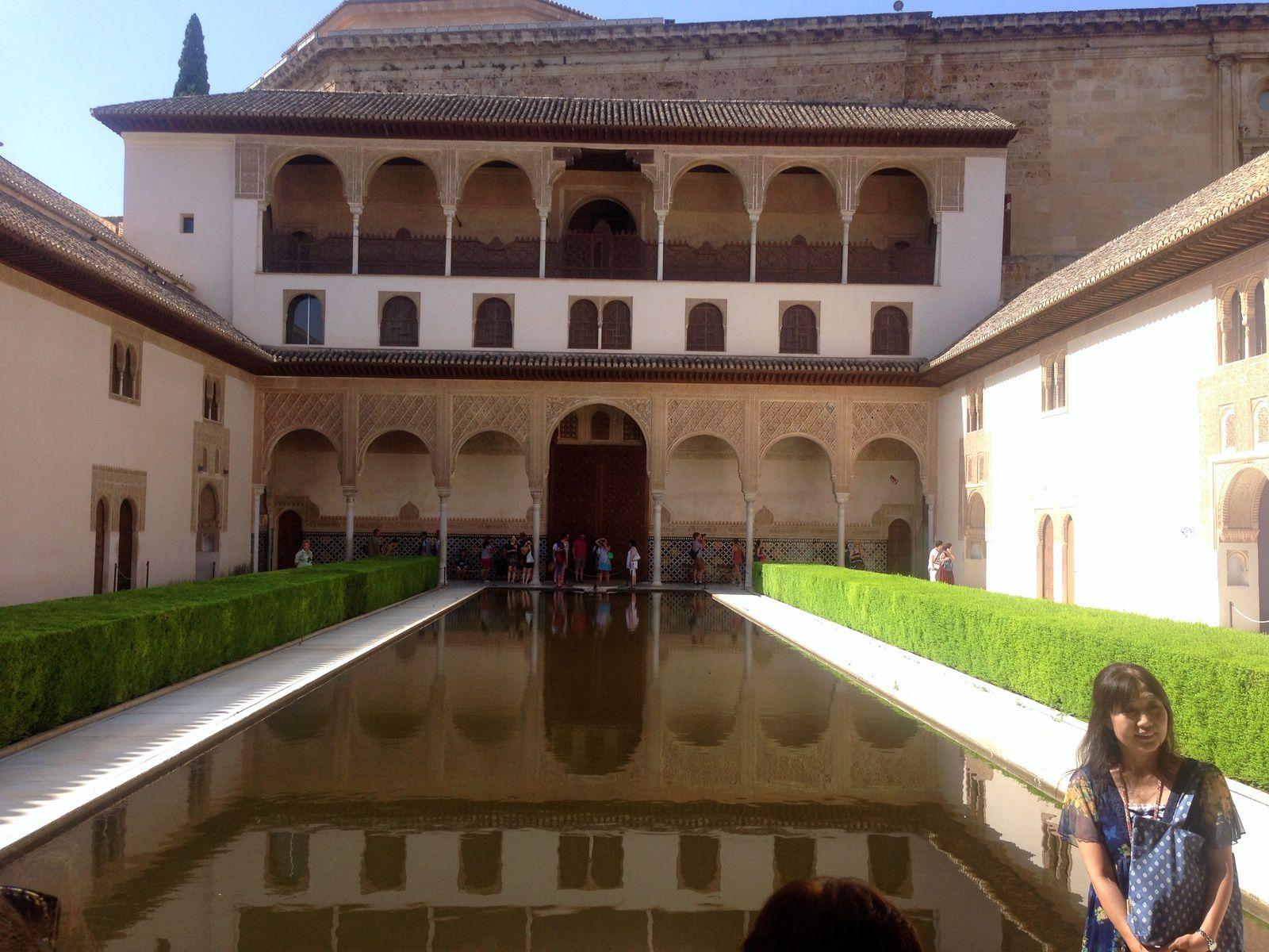 Palais de Comares - Cour des Myrtes