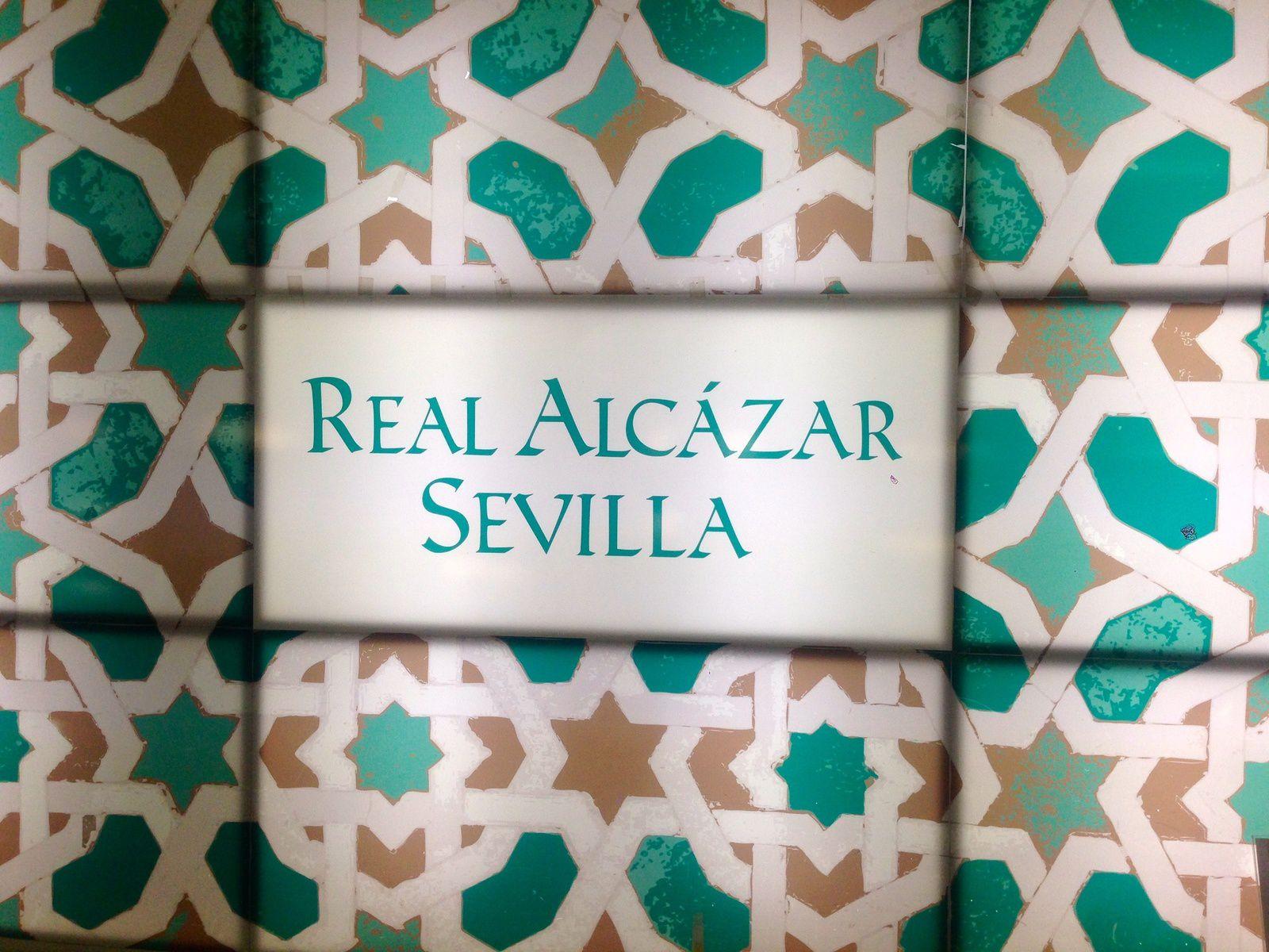 Les jardins de l'Alcazar de Séville - Andalousie