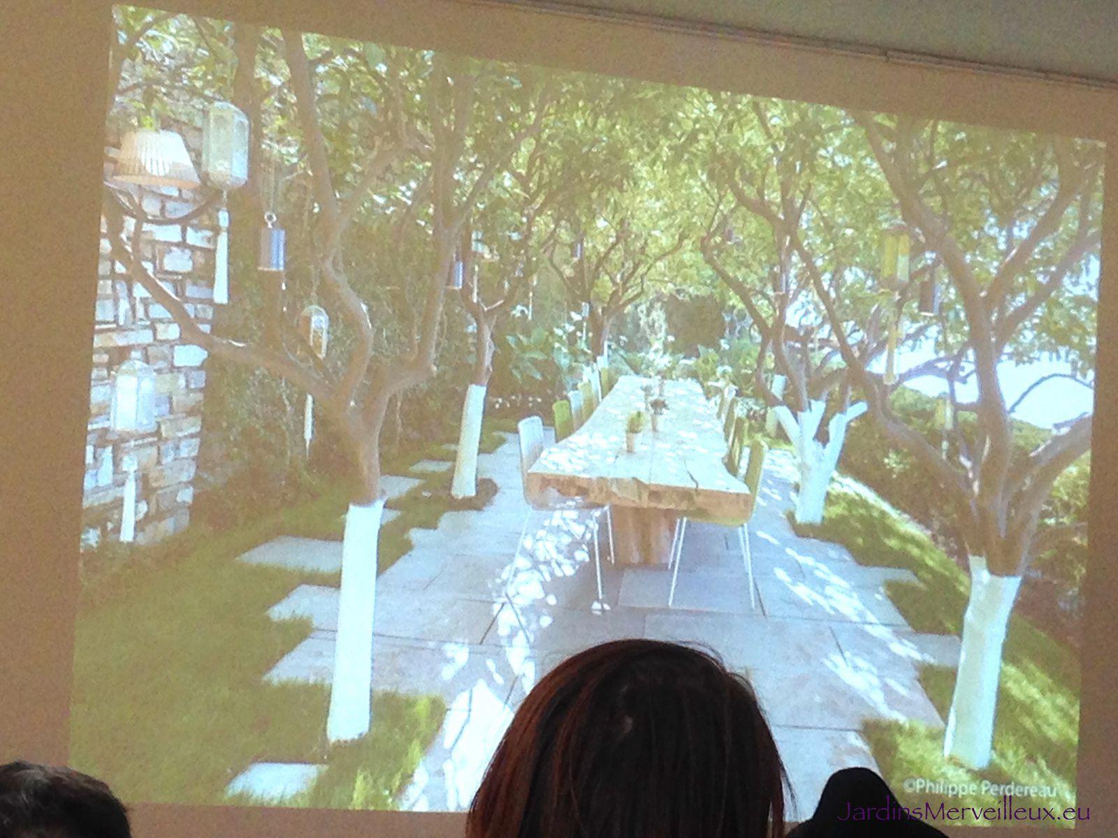 Jean Mus, un jardin c'est du rêve et de l'imagination