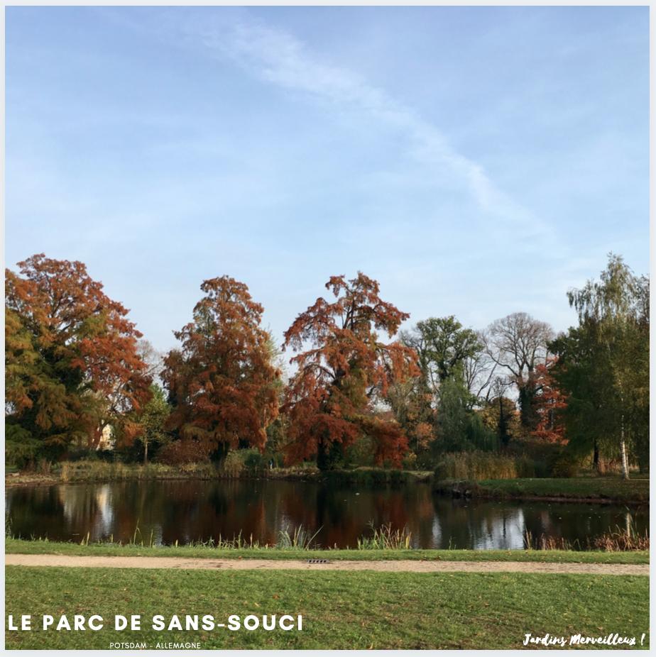 Le Parc de Sans-Souci - Potsdam