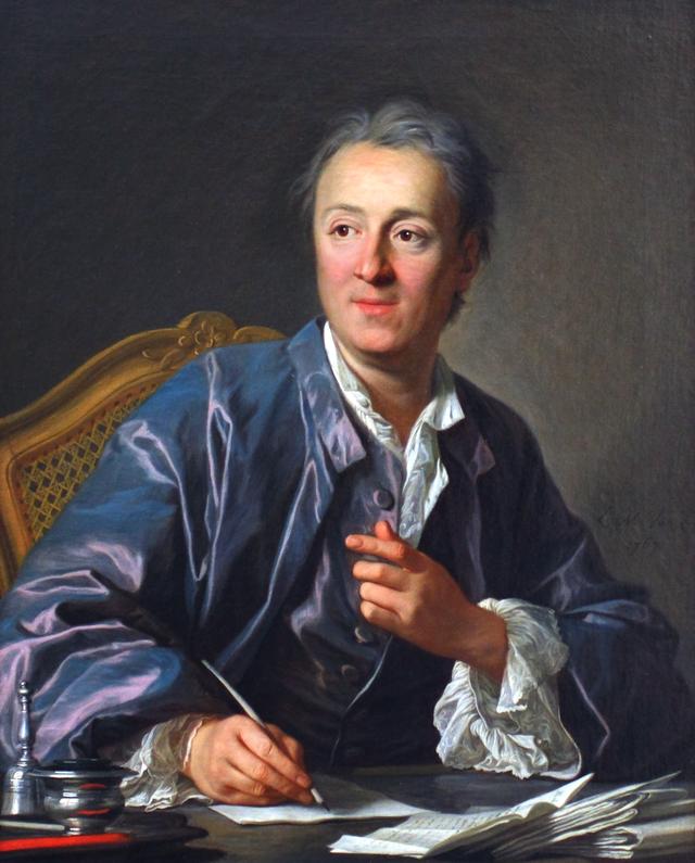 Diderot en texte, images et vidéos