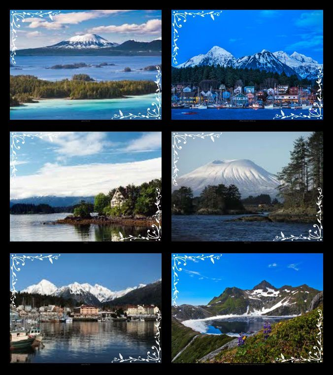 Anywhere out of the world - Sitka