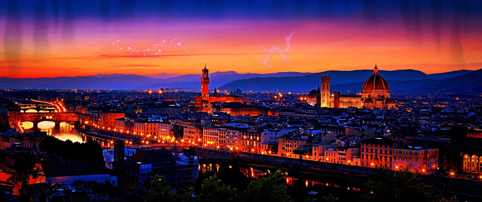 Anywhere out of the world - Florence